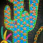"""Cactus - 2'2"""" x 3'3"""""""