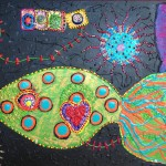 """Candy Fish - 3'3"""" x 2'2"""""""