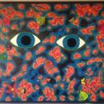 "Blue Eyes - 4'11"" x 3'11"""
